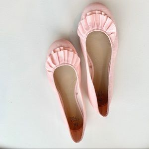 Peach ballet flatsby Time and Tru , size 7.5, NWOT